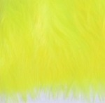 Wolly Bugger Marabou - Fluo Yellow