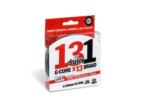 Sufix 131 Gore Braid 150m Mossgrön