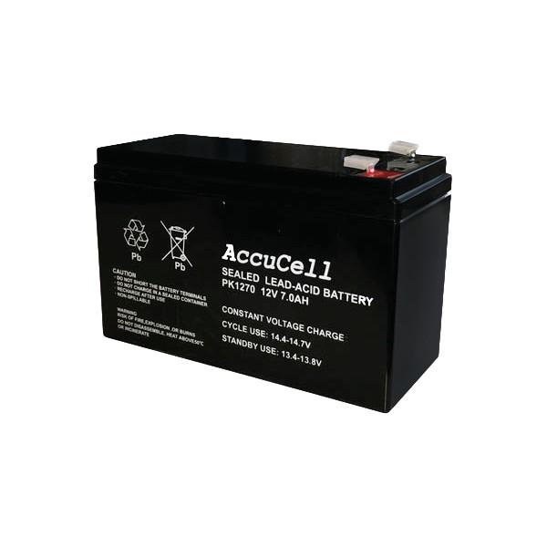 Batteri AGM 12V 7Ah