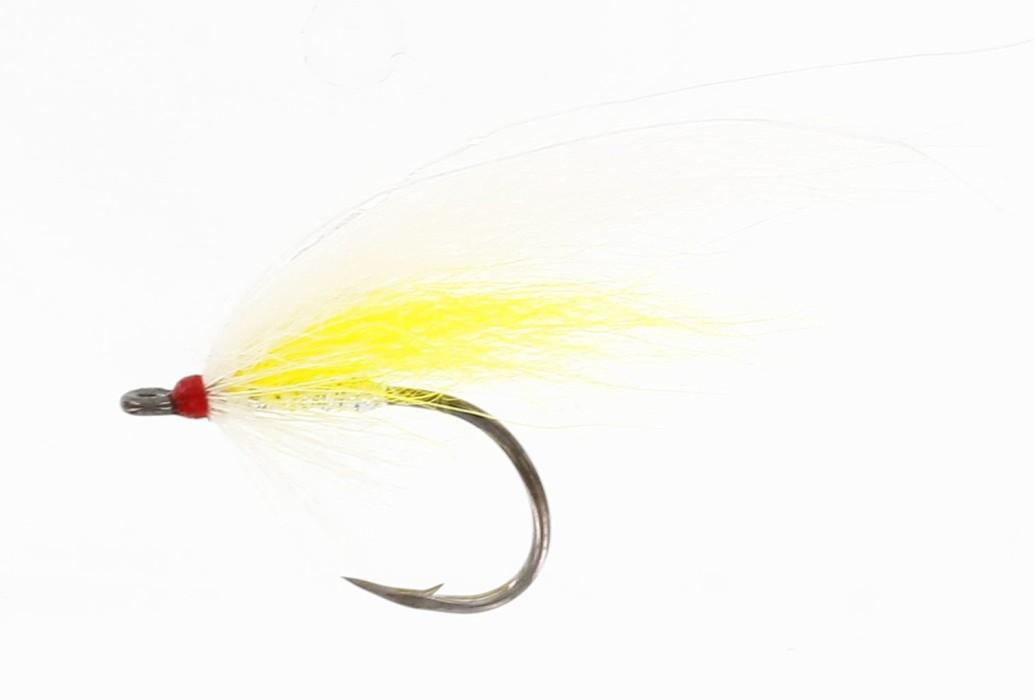 Blondie White/Yellow Mustad #4