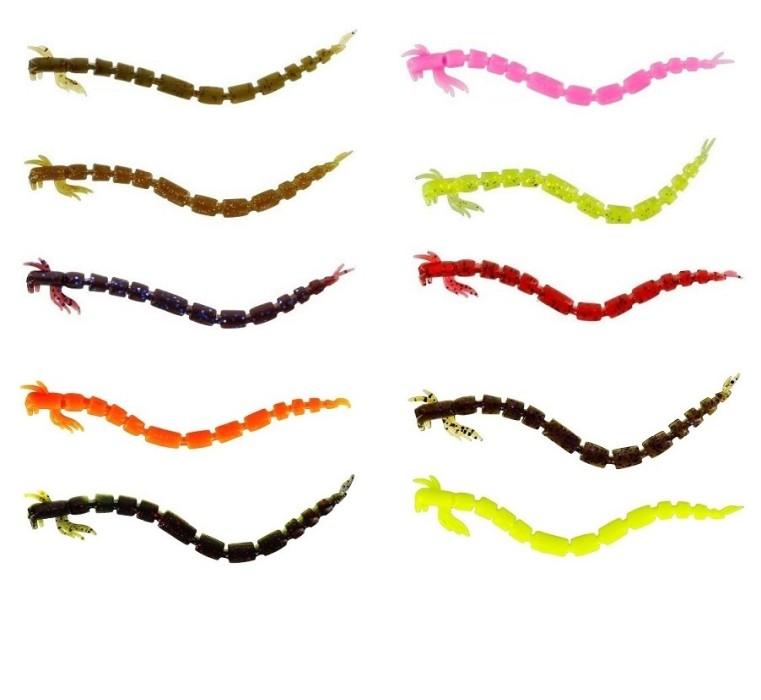 Westin BloodTeez Worm 5,5cm 10-pack