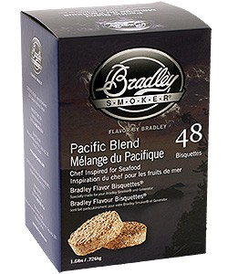 Bradley Rökbriketter 48-pack