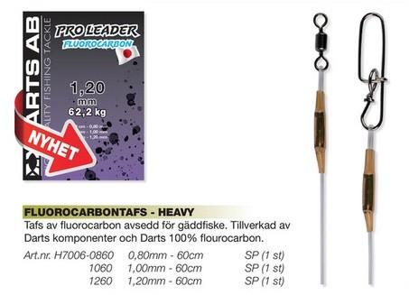 Darts Pro Tafs Fluorocarbon 60cm