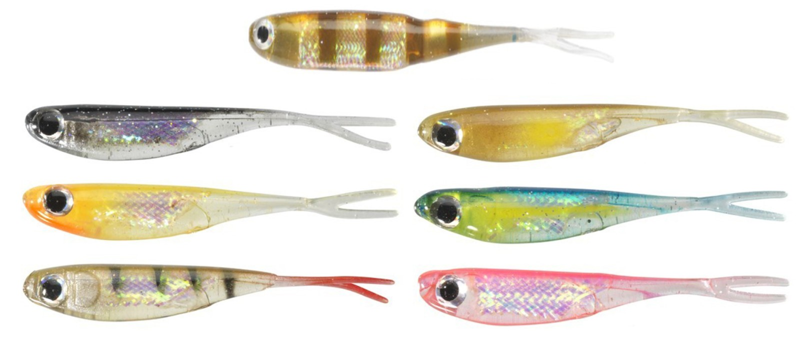 Drop Shot Minnow 3 tum 6-pack