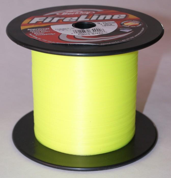 FireLine 1800m Fl. Green Flätlina