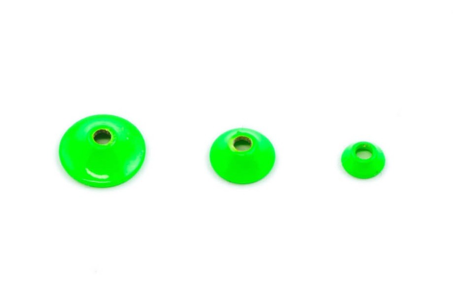 Fits Brass turbo cones - fl chartreuse micro