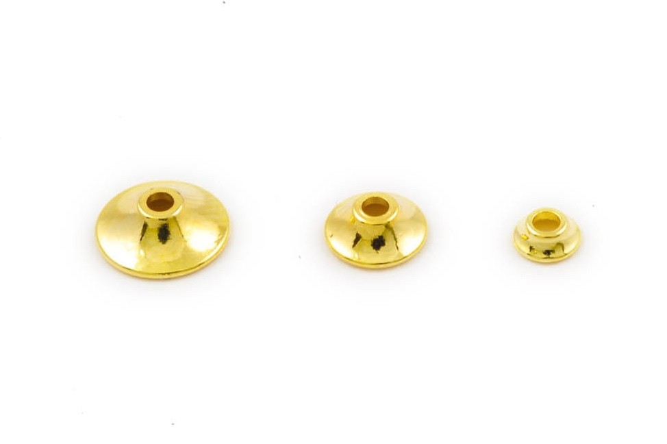Fits Brass turbo cones - gold micro
