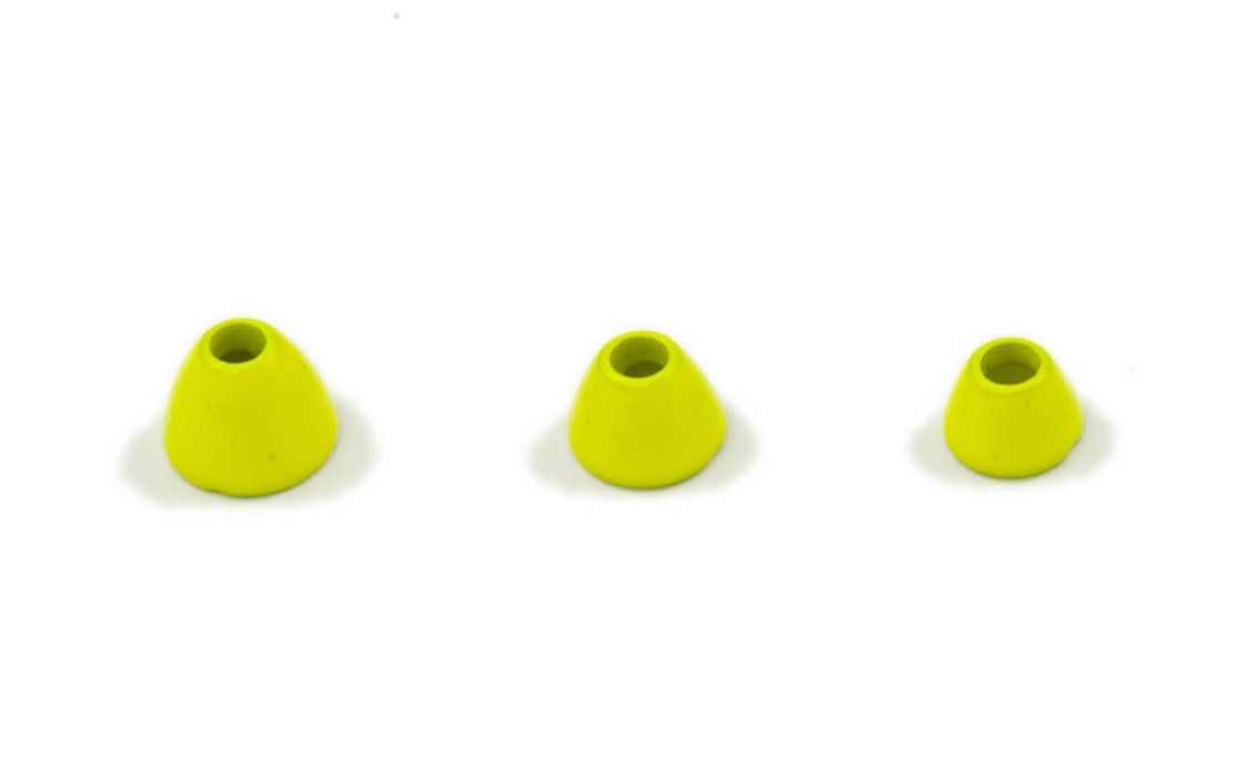 Fits Tungsten cones - fl yellow micro