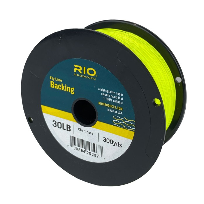 RIO Backing 30lb 270m Chartreuse