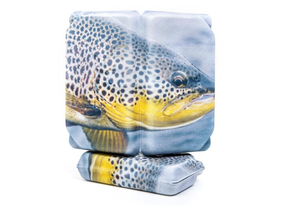 Flugask Trout Slit Foam - Large