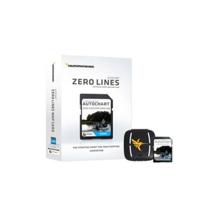 Humminbird Autochart Zero Lines kort