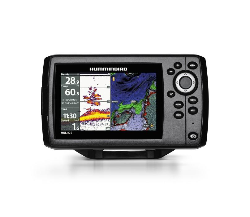 Humminbird Helix 5 CHIRP GPS G2 ink givare