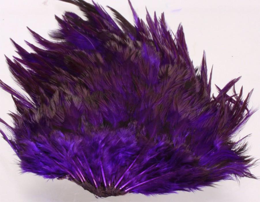 Indisk tuppsadel - purple