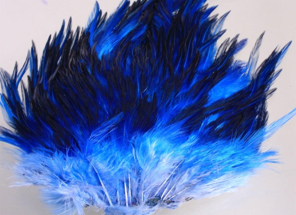 Indisk tuppsadel - Teal Blue