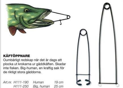 Käftöppnare Human 19cm