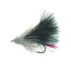 Marabou Muddler Black Daiichi 1720 # 8
