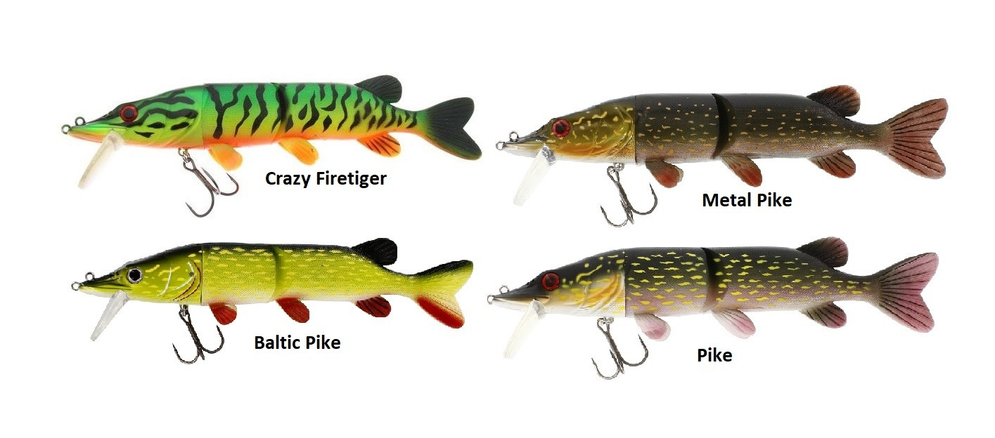 Mike the Pike 200 mm 67 g Slow Sink