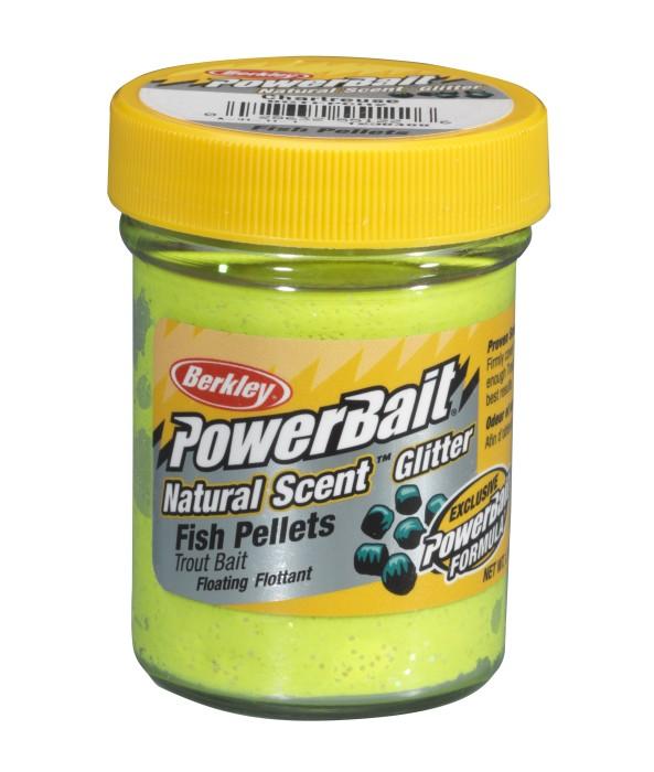 Natural Scent Fish Pellet Chartreuse