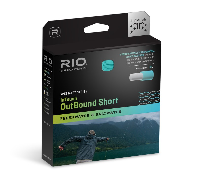 RIO Intouch Outbound Short Flyt Moss/Ivory Fluglina