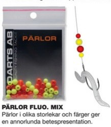 Darts Pärlor Fluo Mix