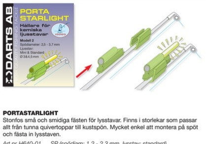 Darts Portastarlight-1B