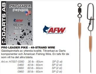 Darts Pro Gäddtafs 49 Strand Wire