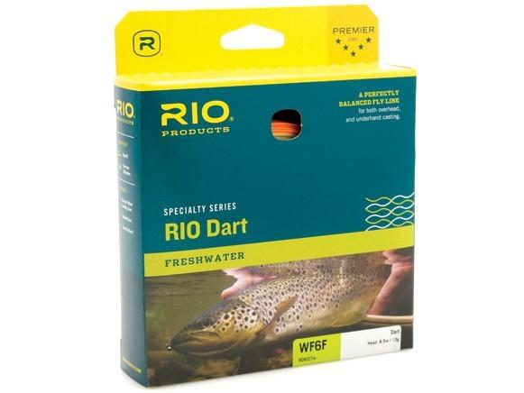 RIO Dart Flyt Yellow/Olive Fluglina