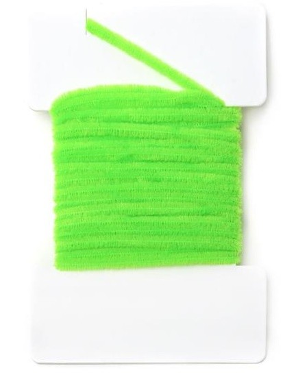 Round Chenille 2mm - Fluo Chartreuse