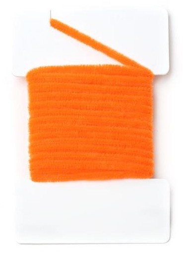 Round Chenille 2mm - Fluo Orange