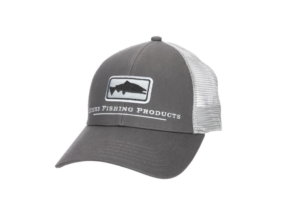 Simms Salmon Icon Trucker Carbon