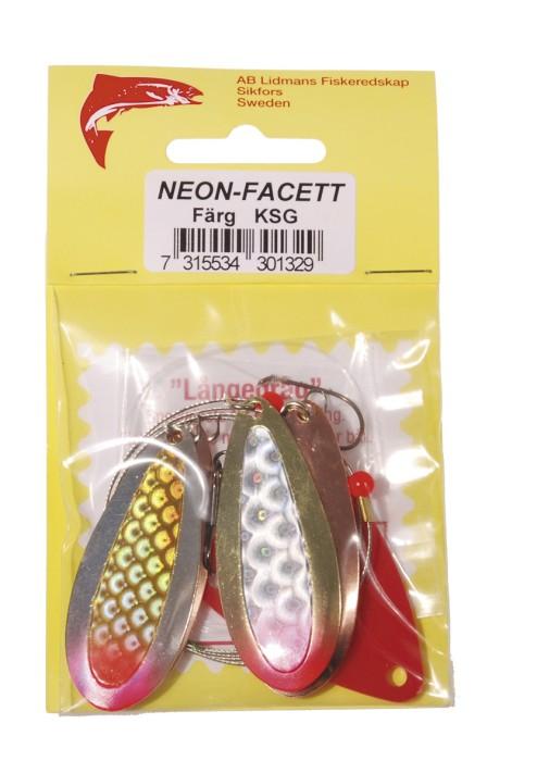 Släp Neon-Facett  Färg: KSG