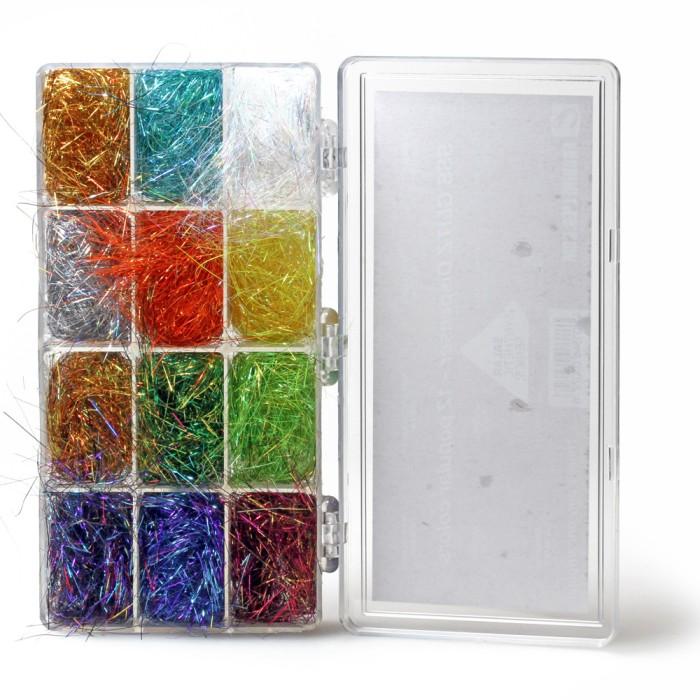 Sss Glitz dubbing - 12 colors dispenser