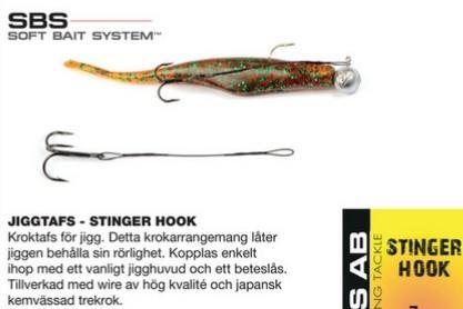 Darts STINGER HOOK-11cm