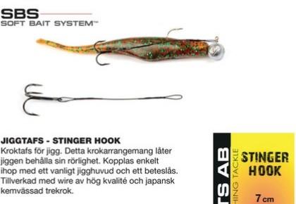 Darts STINGER HOOK- 7cm