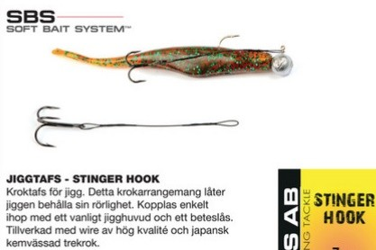 Darts STINGER HOOK- 9cm
