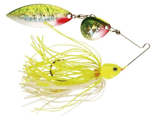 Strike Jr Spinnerbait, 19,6gr - Yellow Red Silver