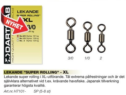 Darts Lekande Super Rolling XL