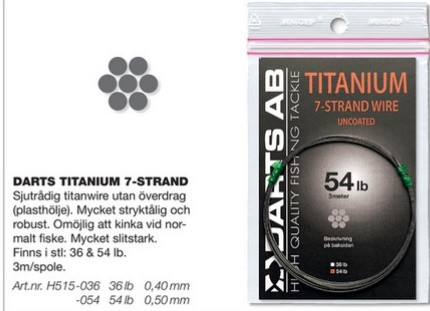 Darts Titanium 7-Strand