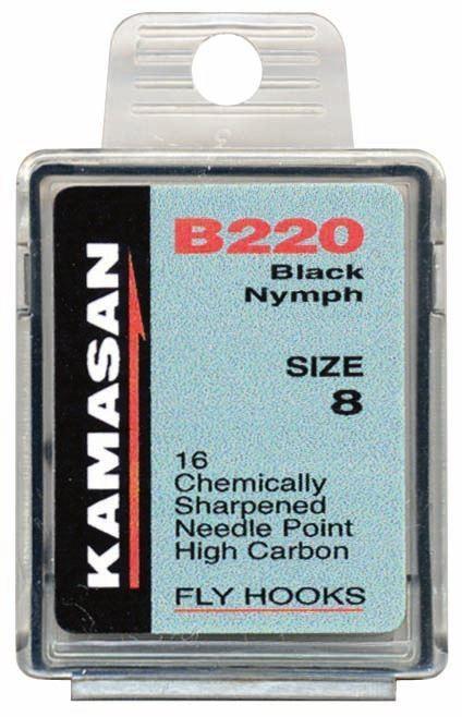 Kamasan B220 Trout Black Nymph