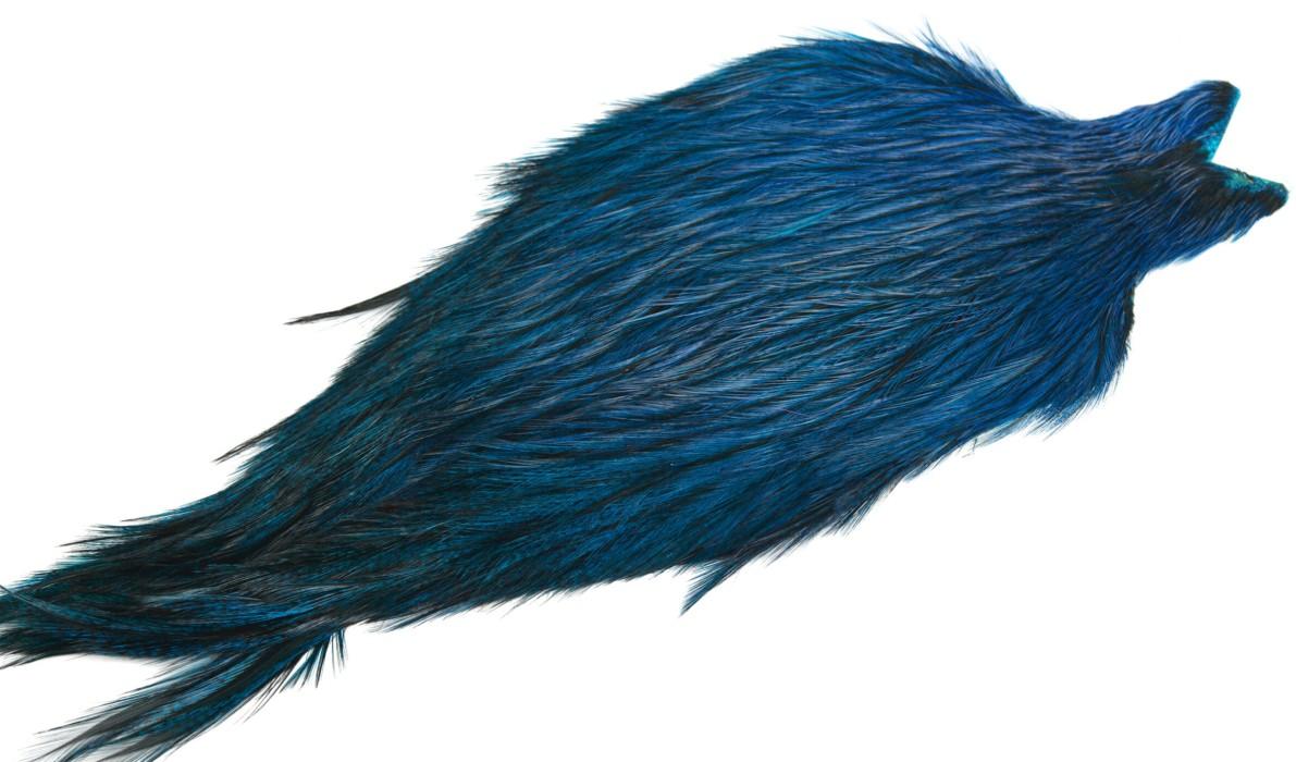 Whiting Coq de Leon tuppnacke - Badger/Kingfisher Blue