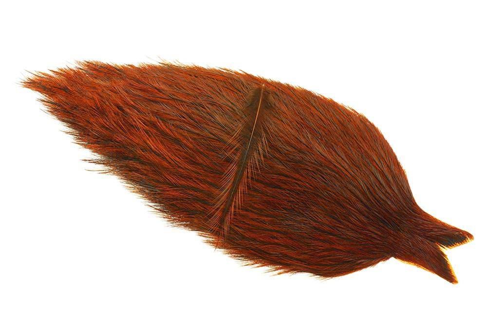 Whiting Coq de Leon tuppnacke - Badger/Natural Brown