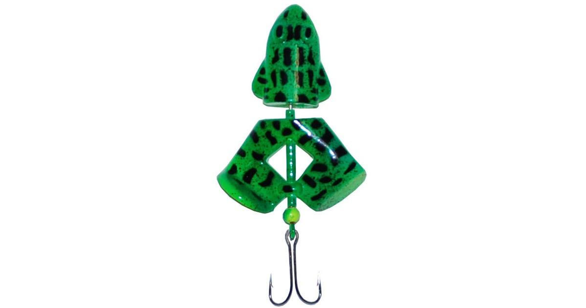 Wiggler frog Grön