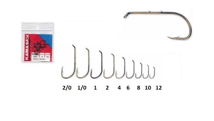 Kamasan Worm Hook BK60